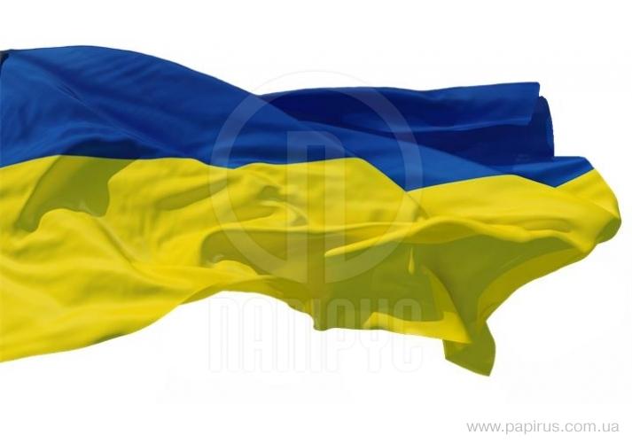 Flag of Ukraine, blue-yellow, 140*90, polyester