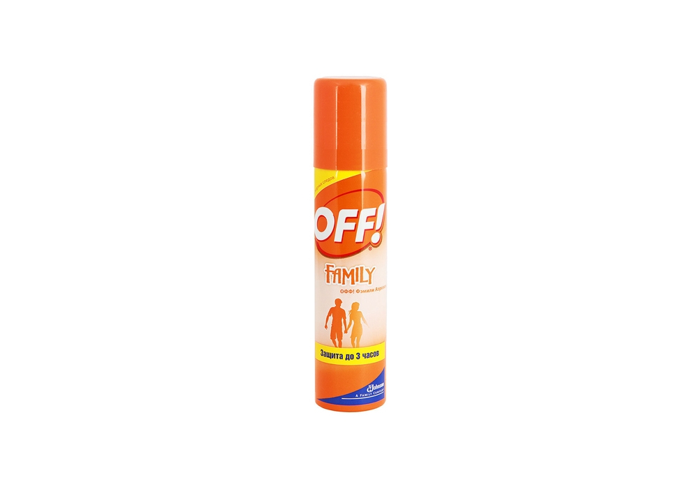 Aerosol from Off mosquitoes