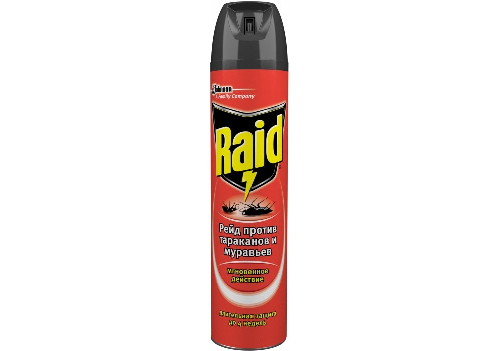3 in 1 aerosol from ants and cockroaches of Raid MAX 300