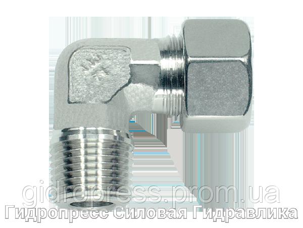 Купить Угловое трубное соединение резьба метрическая - конусная, Нержавеющая сталь Rubrik 8.94