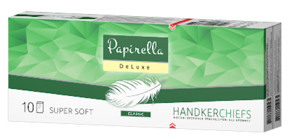 Papirella 3x handkerchiefs layer (without aroma)