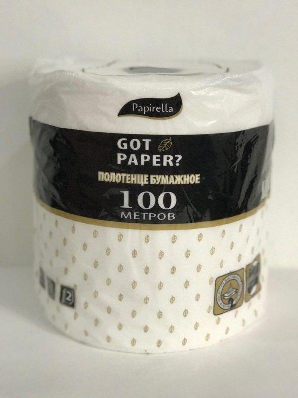 Бумажное полотенце Papirella Got Paper?