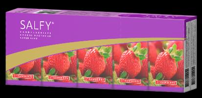 Buy Salfy handkerchiefs (aroma strawberry)
