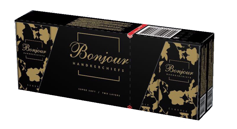 Buy Bonjour handkerchiefs (without aroma)