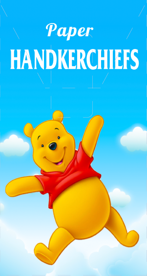 Носовые платки детские Winnie Pooh