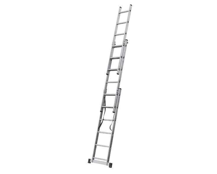 Купить Трехсекционная лестница KRAUSE Corda 3x6 ступеней