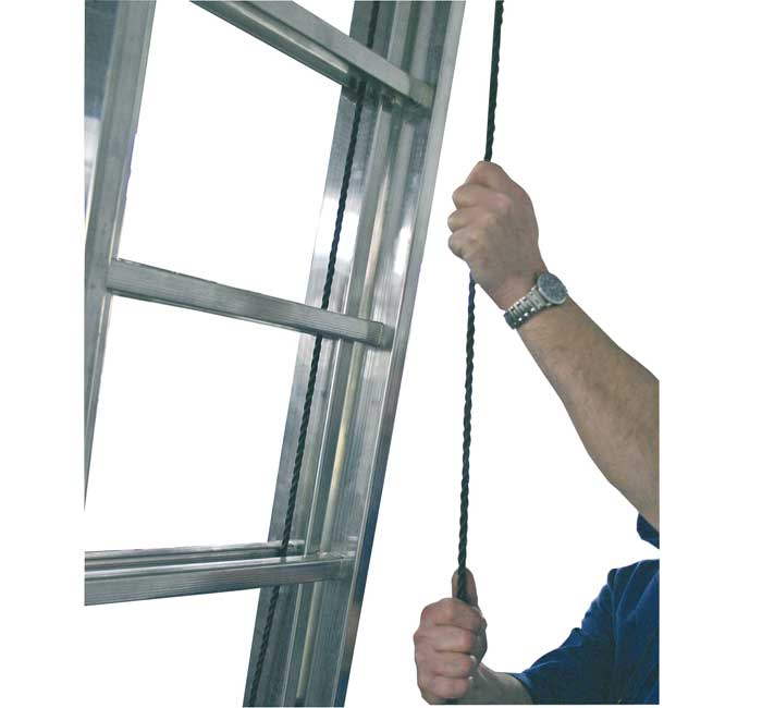 Купить Двухэлементная лестница, выдвигаемая тросом Robilo KRAUSE 2x15 ступеней