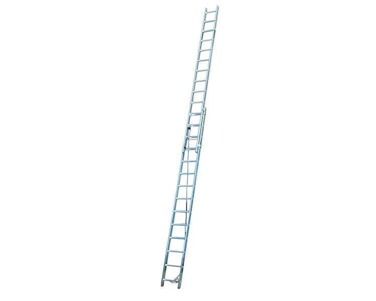 Купить Двухэлементная лестница, выдвигаемая тросом Corda KRAUSE 2x14 ступеней