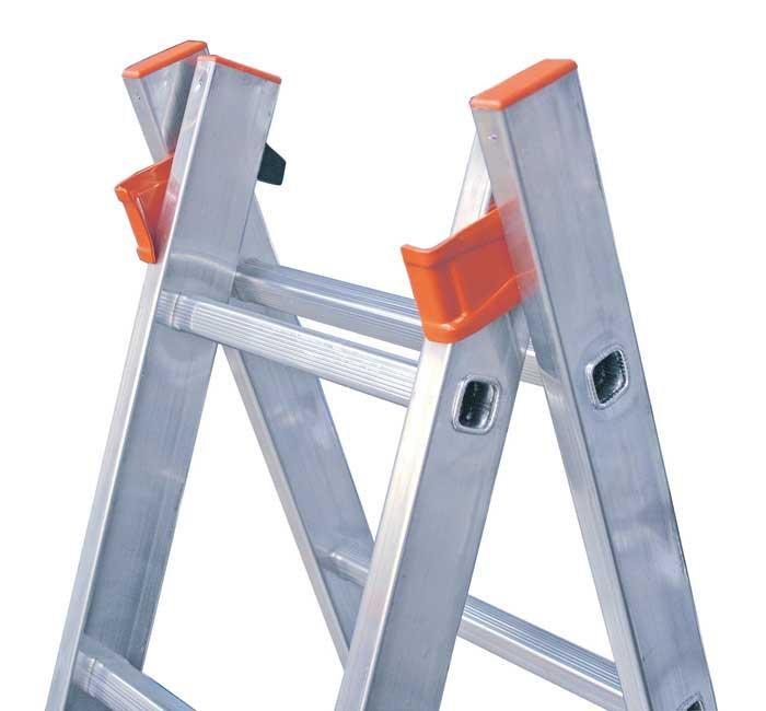 Купить Универсальная двухсекционная лестница Dubilo KRAUSE 2x9 ступеней