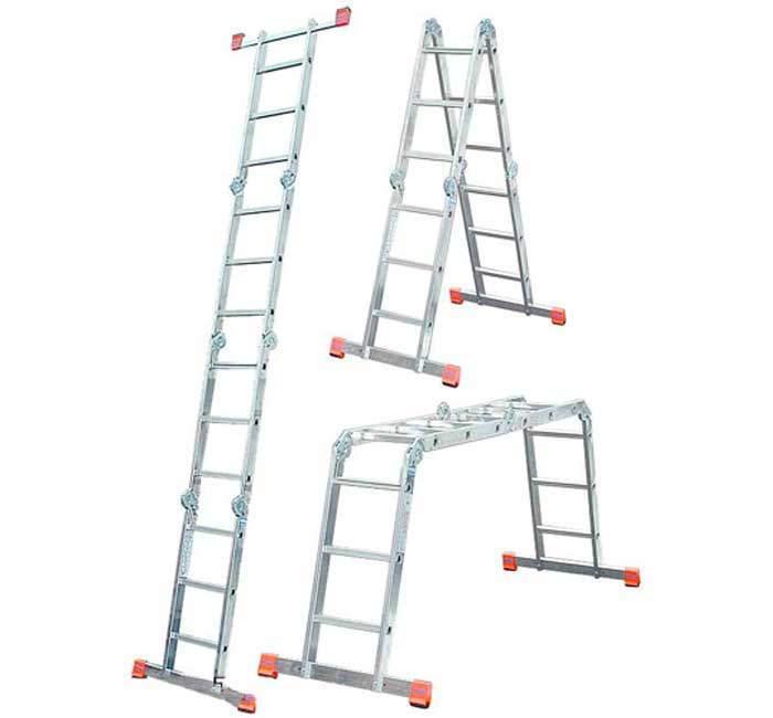 Buy Hinged stepladder KRAUSE MultiMatic 4x3 stages