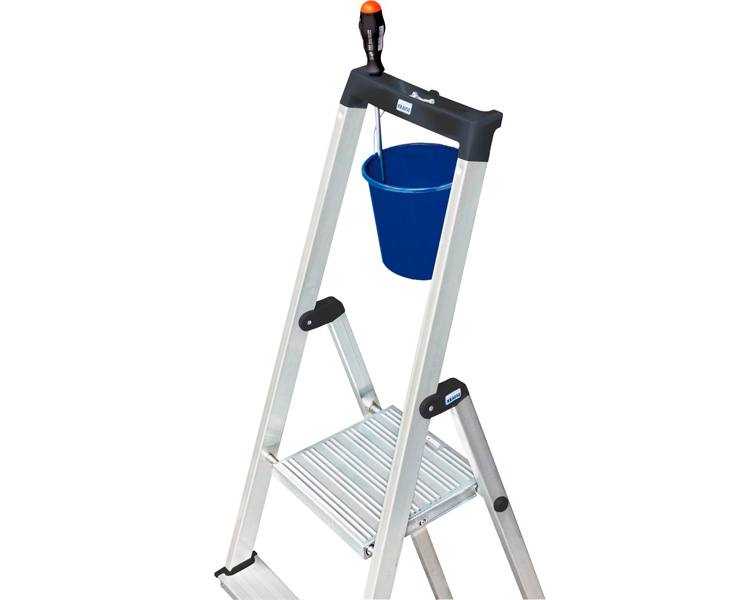 Buy Unilateral step-ladder of Solidy KRAUSE NEW 4 steps