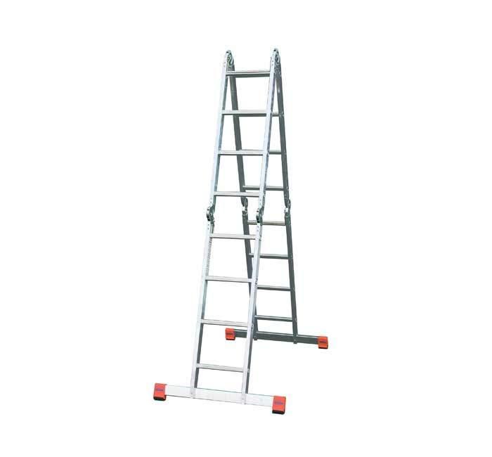 Купить Шарнирная лестница-стремянка KRAUSE MultiMatic 5х4+4x5 ступеней