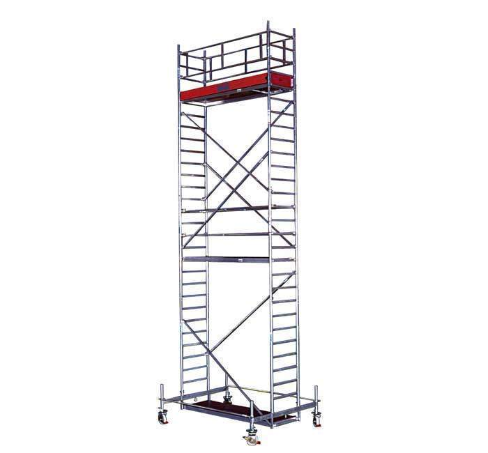 Купить Передвижная вышка KRAUSE STABILO 11,4 м (13,4 м) серия 10