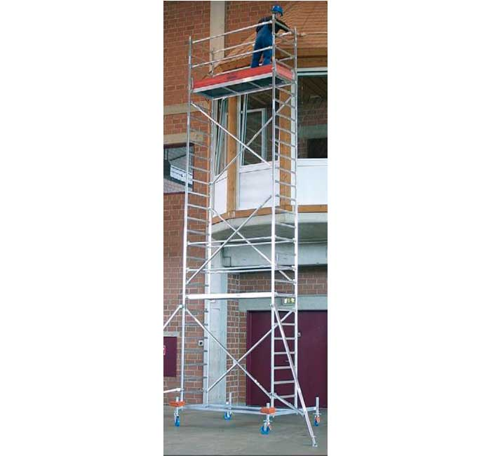 Buy Mobile tower of KRAUSE STABILO of 12,4 m (14,4 m) series 10
