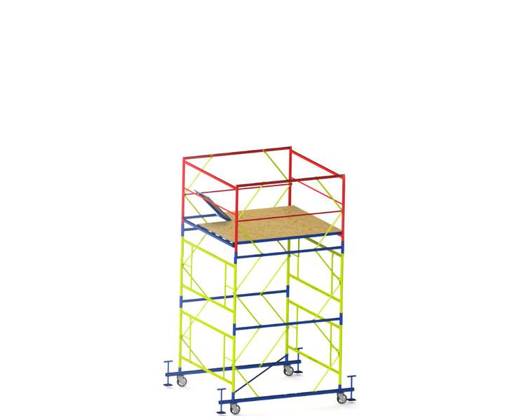 Купить Вышка-тура VIRASTAR «ПРОФИ» (2,0х2,0 м) 2+1