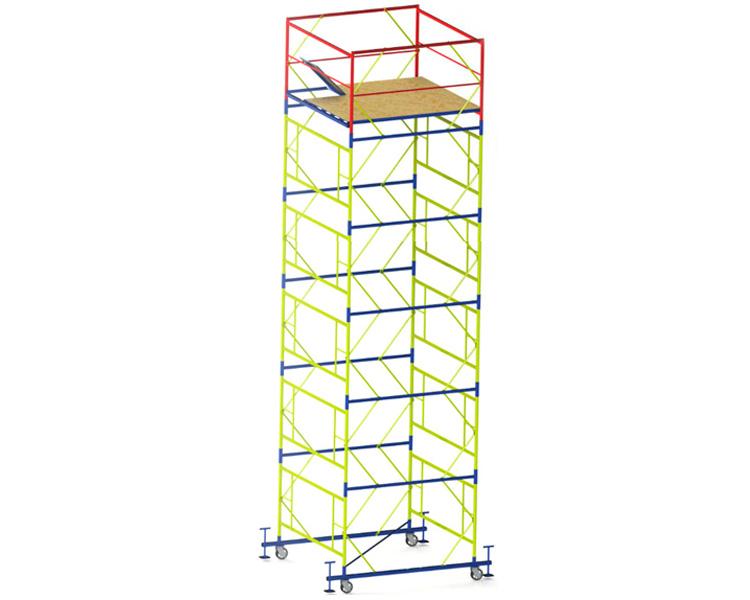 Купить Вышка-тура VIRASTAR «ПРОФИ» (2,0х2,0 м) 5+1