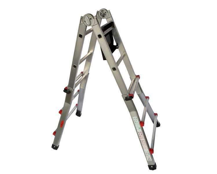 Купить Телескопическая лестница SVELT SCALISSIMA 6+6 ступеней