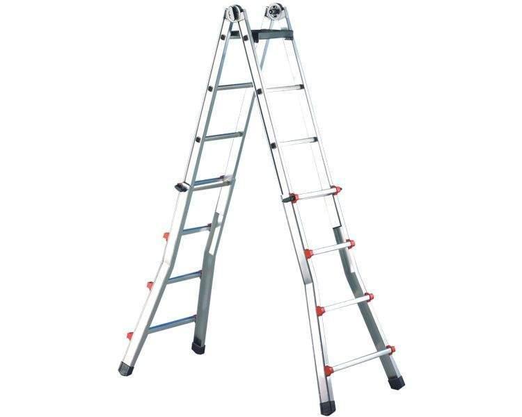 Купить Телескопическая лестница SVELT SCALISSIMA 7+7 ступеней