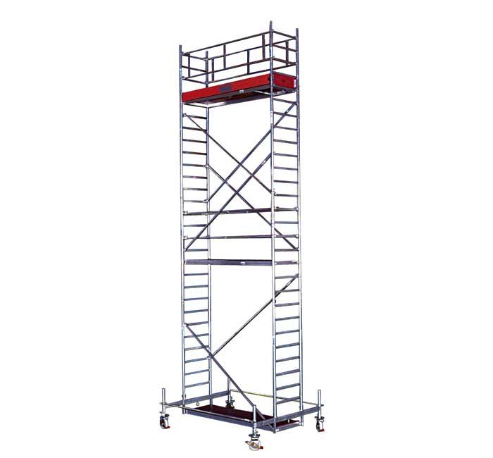 Купить Передвижная вышка KRAUSE STABILO серия 10 (2,0х0,75 м) раб. высота 10,4 м
