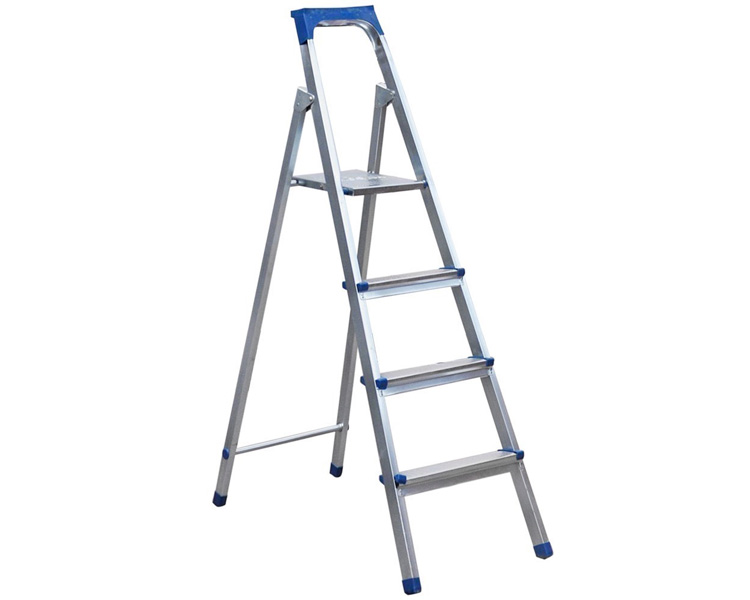Buy Galvanized steel ladder VIRASTAR 4 steps