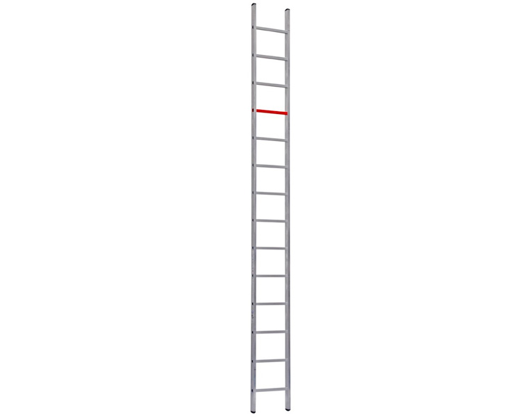 Buy Single-section aluminum ladder of VIRASTAR of 14 steps