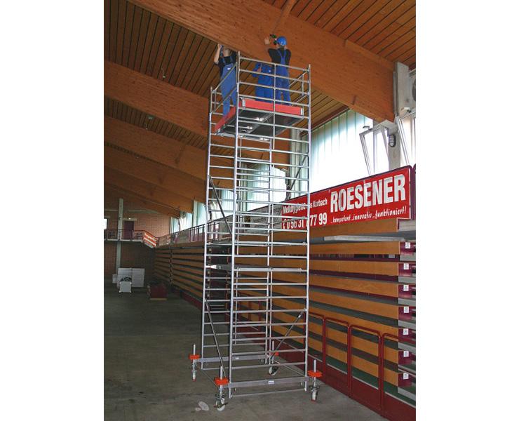 Купить Передвижная вышка-тура KRAUSE STABILO серия 500 (2,0x1,5 м) раб. высота 6,4 м
