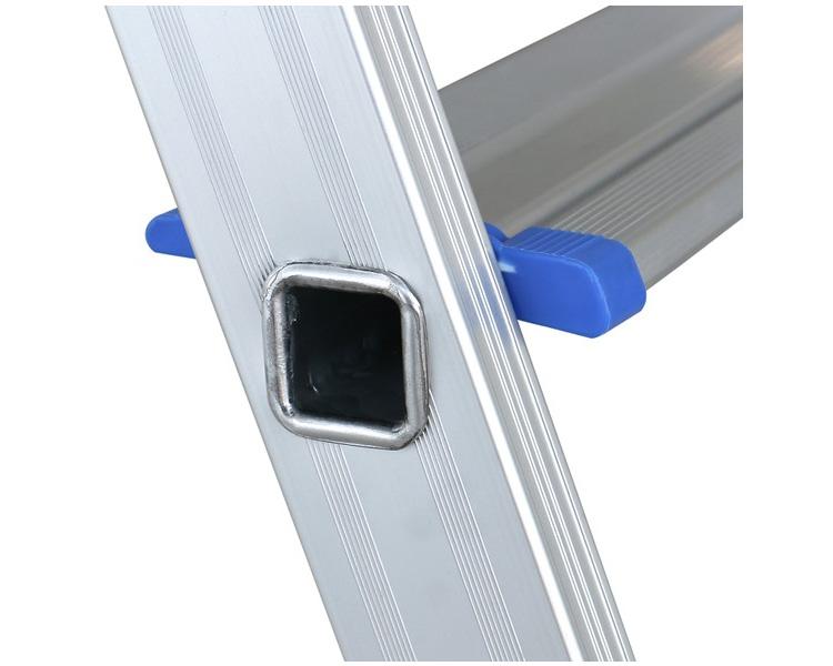 Профессиональная стремянка алюминиевая VIRASTAR ALB 2+1 ступени