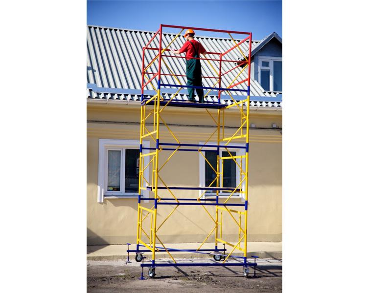 Купить Базовый блок вышки-туры VIRASTAR ПРОФИ 2,0x2,0 м (с колесами)