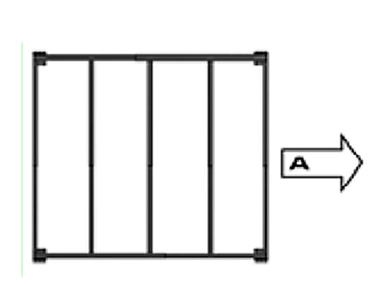 Купить Комплект дополнительного расширения мезонина SVELT T8, черный, тип A
