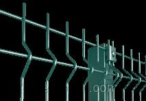 Купить Забор секционный МЕДИУМ H-2100 Ø-4/3 (секц. 2030х2500 яч. 200х60, ст. L-2500, кр. 4)