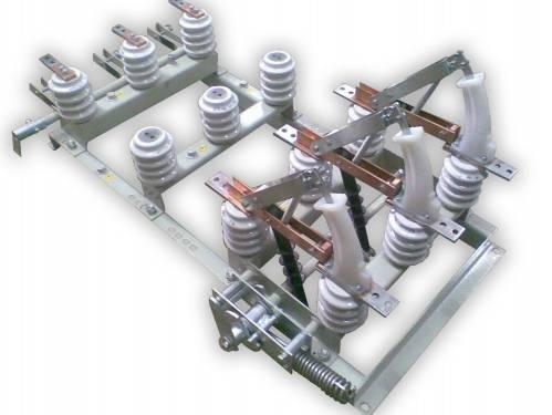 VNAP 400/630 A 10 kV on a frame