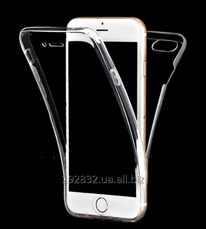 Прозрачный чехол с 2 частей полная защита+подарок для всех моделей iPhone и Samsung.