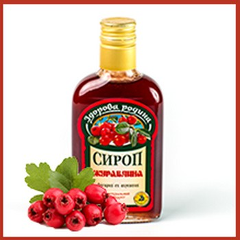 Syrup from a cranberry