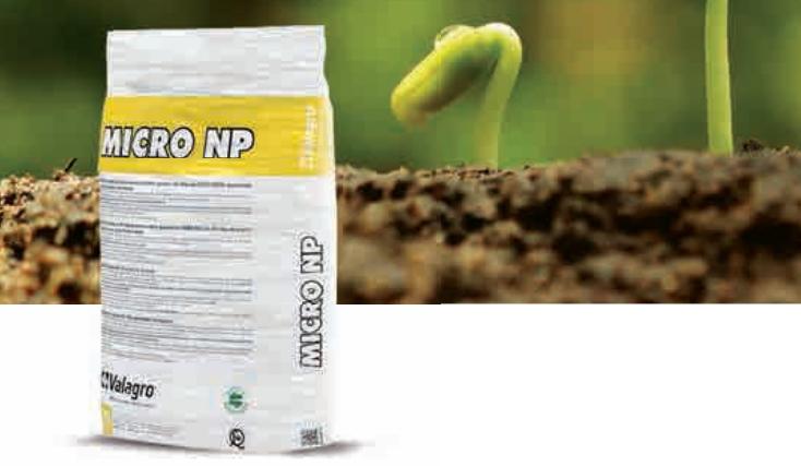 Мікро-гранульоване добриво MICRO NP