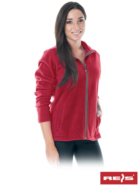 Winter women's sports/daily REIS jacket red