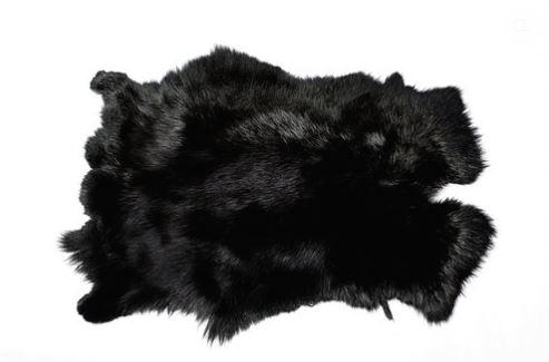Шкура кролика (крашенная), Артикул: 005001