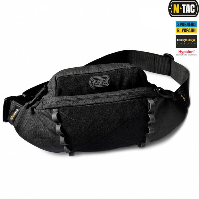 Сумка поясная M-Tac Tactical Waist Bag Elite черная