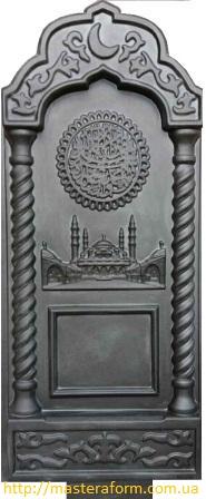 Формы для памятников из АБС и ПВХ, стеклопластиковые формы. Стелла № 28