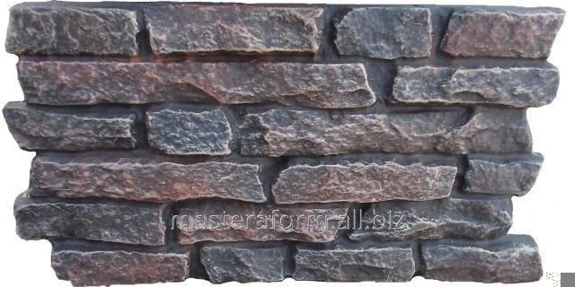 Формы для изготовления фасадной плитки. Фасад №19 Ласточкин хвост