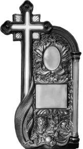 Формы для памятников из АБС и ПВХ, стеклопластиковые формы. Стелла №68