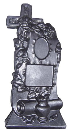 Формы для памятников из АБС и ПВХ, стеклопластиковые формы. Стелла №73