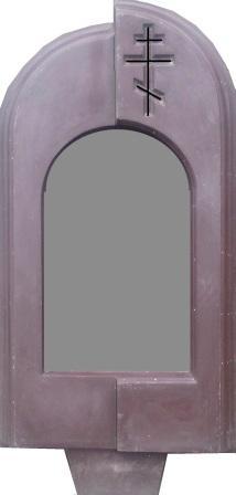 Формы для памятников из АБС и ПВХ, стеклопластиковые формы. Стелла №82