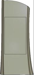 Формы для памятников из АБС и ПВХ, стеклопластиковые формы. Стелла №328
