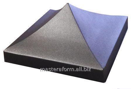 Форма шапки четырехскатная 34х34