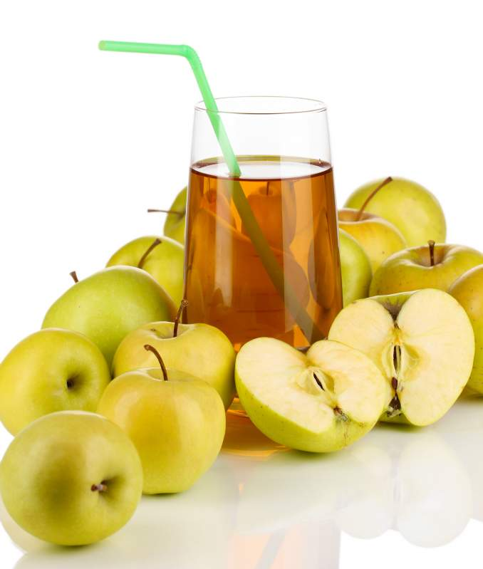 Concentrate of apple juice