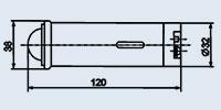 Арматура сигнальная АС-220 зеленая