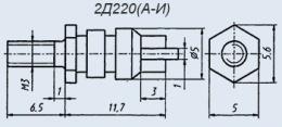 Купувам Диоден изправител 2D 220 b