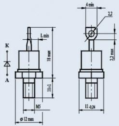 Купить Диод низкочастотный 2Д112-25-6