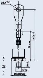 Купить Диод низкочастотный Д141-100-4