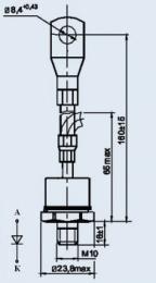 Купить Диод низкочастотный Д141-100Х-13